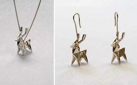 Драгоценные фигурки-оригами от Claire & Arnaud — фото 11