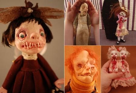 Зомби, монстры, вампиры и прочие куклы Камиллы Млынарчик — фото 24