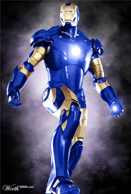 Железный Человек, он же Айрон Мэн
