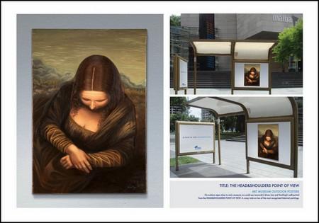 Улыбка Моны Лизы … на рекламных постерах. Новые идеи на вечную тему. — фото 3