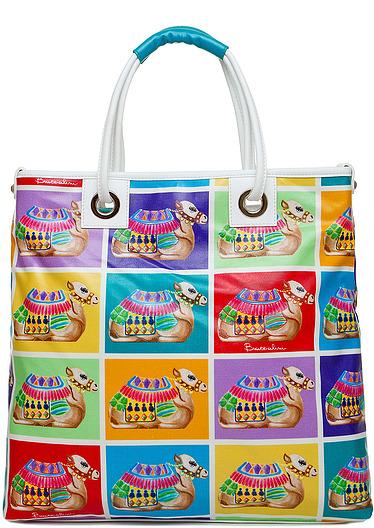 Верблюды + лето + пэчворк = сумочки от Braccialini — фото 5