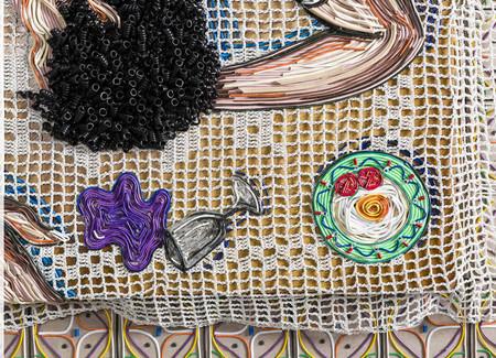 Яркие картины из кабелей от Федерико Урибе — фото 8