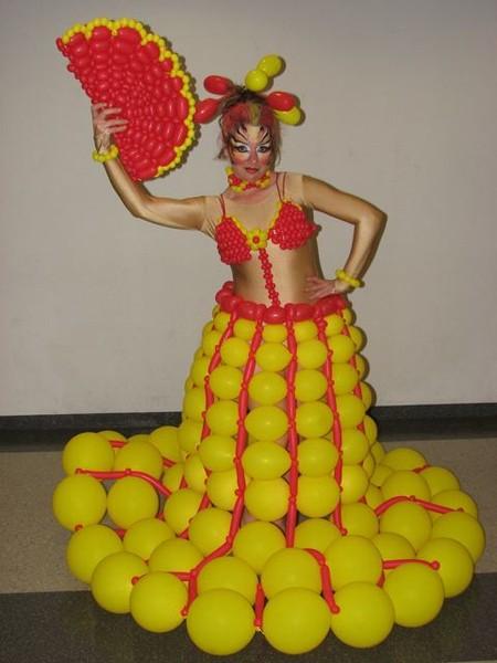 Твистинг – скульптуры из воздуха, или надувательство ))) Фигуры из воздушных шариков — фото 35