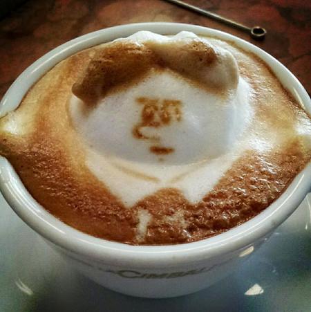 3D везде, даже в кофейной пенке! Продвинутый латте-арт от Kazuki Yamamoto — фото 7