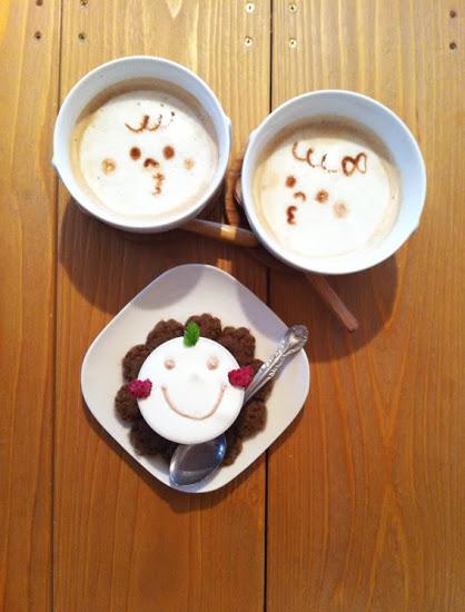 Герои аниме на кофейкой пенке – еще немного о латте-арт — фото 11