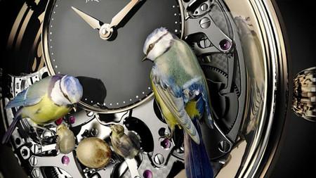 Дорогой эксклюзив – часы Jaquet Droz Bird Repeater — фото 14