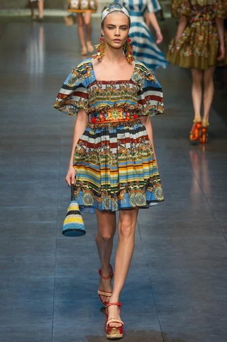 Сицилия от Dolce & Gabbana - женская коллекция весна-лето 2013 — фото 82