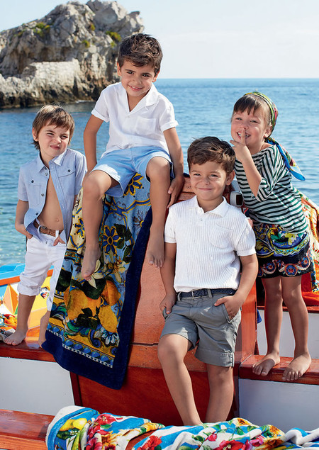 Самым любимым – детская коллекция Dolce&Gabbana весна-лето 2013 — фото 25