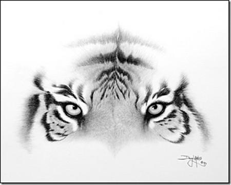 Рисунки карандашом … но не руками. Дуг Лэндис (Doug Landis) – необычный художник. — фото 11
