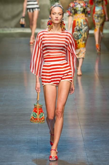 Сицилия от Dolce & Gabbana - женская коллекция весна-лето 2013 — фото 51