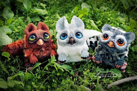 Милые монстры – игрушки Марии Santani — фото 46