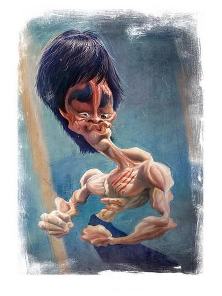 Современные карикатуры на голливудских звезд — фото 7