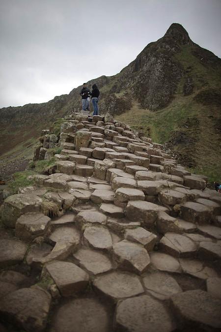 Дорога Гигантов – ступени из базальтовых столбов — фото 14