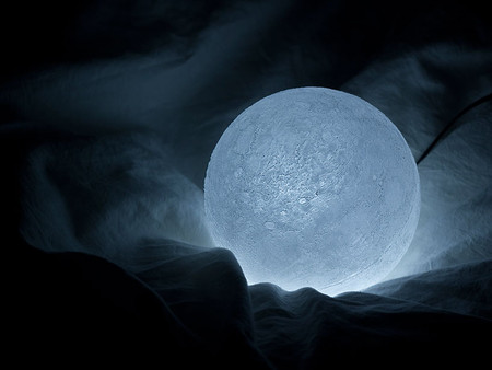 Лунный светильник The Moon от Эсуке Тачикава — фото 4