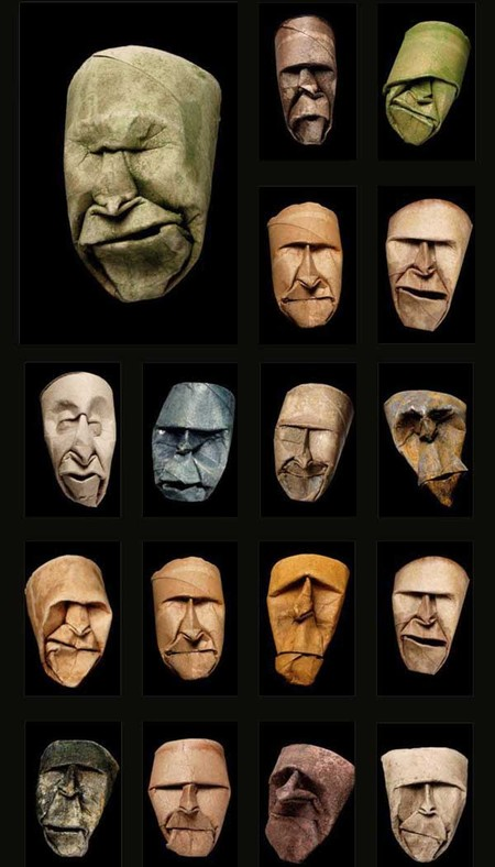 Каждое из лиц — уникально. Каждый рулон имеет свое лицо)