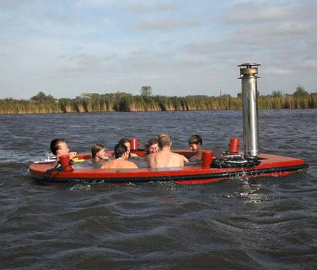 Лодки Hot Tub Boat – с теплым бассейном-джакузи и музыкой — фото 3
