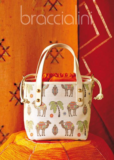 Верблюды + лето + пэчворк = сумочки от Braccialini — фото 2