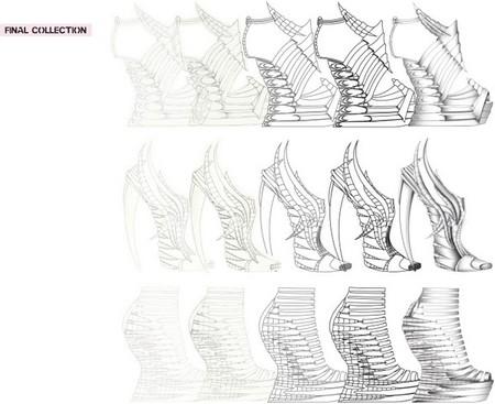 Обувь Еxoskeleton, распечатанная и хищная — фото 12