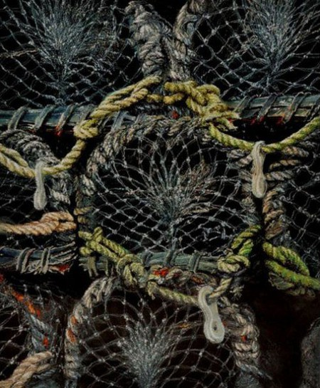 Вышитые пейзажи Джилл Дрэпер (Jill Draper) — фото 14