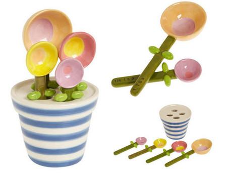 Flower Pot Measuring Spoon Baking Set — самый милый наборчик