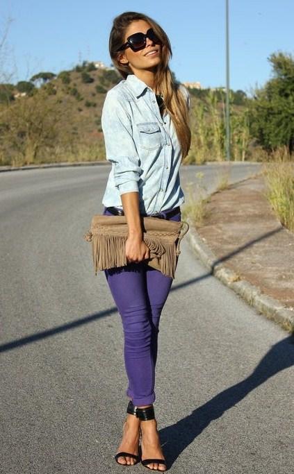 Ода джинсовой рубашке – сочиняем образы — фото 37