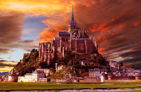 Остров-крепость Мон Сен-Мишель — фото 18