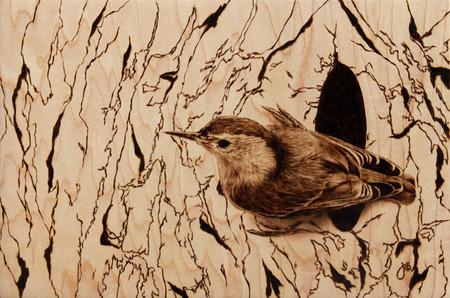 Пирография – горячая живопись Джулии Бендер — фото 24