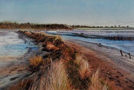 Вышитые пейзажи Джилл Дрэпер (Jill Draper) — фото 17