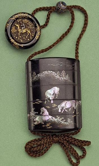 Сагемоно-инро – японский карман. Почему в настоящем нэцкэ должно быть две дырочки? — фото 18