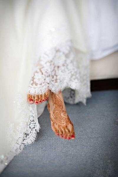 Менди – украшение не только для индийских принцесс — фото 71