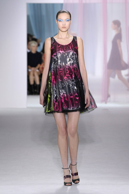 Женская коллекция Dior весна-лето 2013 — фото 20