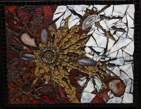 Механизмы и другие штуки в мозаиках Лоры Харрис — фото 9