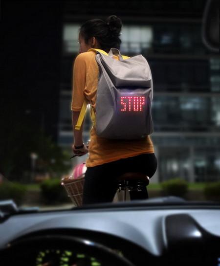 Рюкзак Seil Bag – защитник велосипедистов и пешеходов — фото 2