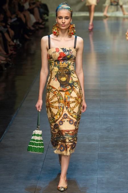 Сицилийские мотивы есть в каждом наряде весенне-летней коллекции D&G