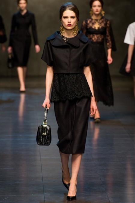 Dolce & Gabbana осень-зима 2013-2014 – когда всего слишком много — фото 46