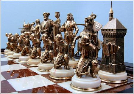 Белые фигуры: Священная Римская Империя, 16 в.