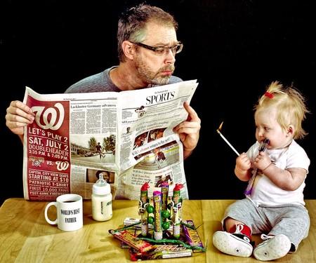 Папа и дочь – истории в картинках. Фото Дэйва Энглдау — фото 22