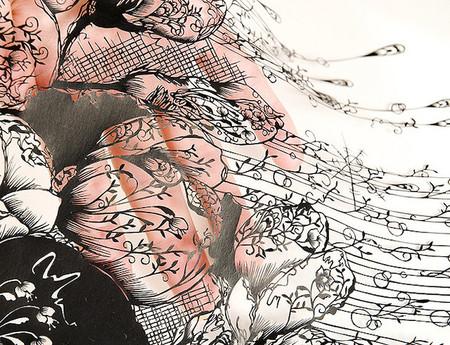 Кружева из бумаги – ювелирные работы Хины Аоямы — фото 3