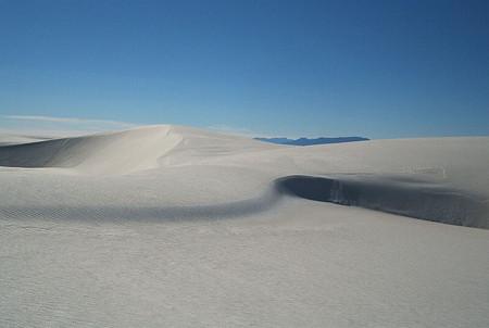 Белая жара в пустыне White Sands National Monument — фото 4