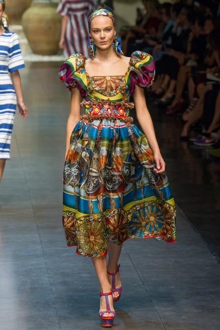 Сицилия от Dolce & Gabbana - женская коллекция весна-лето 2013 — фото 14