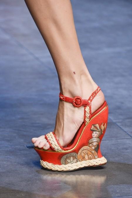 Сицилия от Dolce & Gabbana - женская коллекция весна-лето 2013 — фото 43