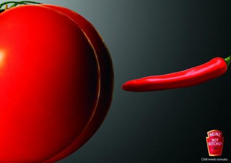 Реклама кетчупа Heinz – сразу понятно, что он острый! — фото 11