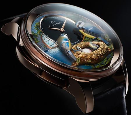 Дорогой эксклюзив – часы Jaquet Droz Bird Repeater — фото 2