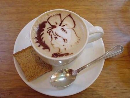 Герои аниме на кофейкой пенке – еще немного о латте-арт — фото 2