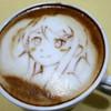 Герои аниме на кофейкой пенке – еще немного о латте-арт