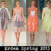 «Вкусная» коллекция от Erdem – весна-лето 2013