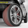 Discolor Tyre – шины, которые придется менять вовремя