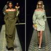 Открытые плечи – модная волна весны 2013