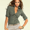 Рубашка Laura Scott – стиль «милитари», который подчеркивает женственность