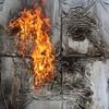 В память о ВОВ – лица, нарисованные огнем и «коктейлем Молотова». Проект T-Radya